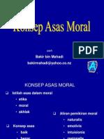 Konsep Asas Moral