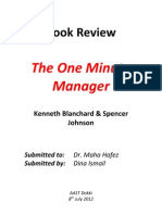 The One Minute Manager Builds High Performing Teams Pdf