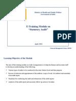 Statutory Audit Module