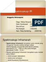 Spektroskopi IR Kelompok 1