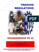 TR Housekeeping NCIII (Nov14)