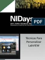 Tecnica s Personalizar Lab View