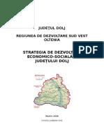 Strategia Judetului Dolj 2007 2013