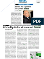 Romeo Gestioni Rassegna Stampa Marzo 2013
