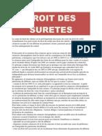 Droit Des Suretes