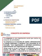 La Empresa Clasificacion Regimen Laboral Tributario_2