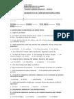 Prueba de Diagnóstico de Ciencias Naturales 6°A-B