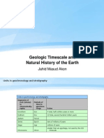 Geologic Timescale and Natural History of the Earth