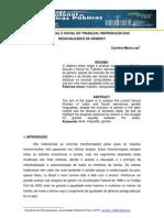 DIVISÃO SEXUAL E SOCIAL DO TRABALHO