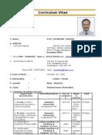 Chowdari Prasad CV