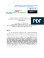 Cfd Analysis of Turbulence in a Gas Turbine Combustor With Reference to the Context