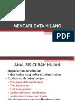 Kuliah 4 Data Hilang