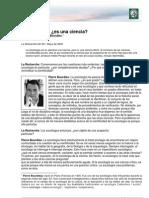 1. Lectura 4 - Bourdieu La Sociologia