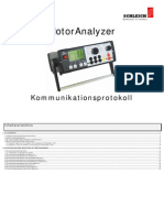 Data MotorAnalyzer D