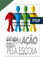 Trabalho Final Controle Social - formação pela escola