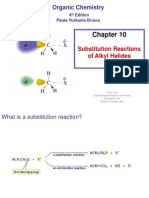 Chapter 10. Substitution Reactions of Alkyl Halides