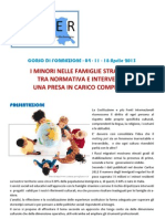 PROGRAMMA - Corso Immigrati 2013