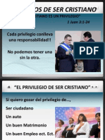 Privilegios Del Cristiano