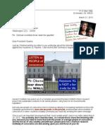 Letter to Barack Obama 13-03-21 Helmholtz