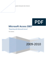 Cara Menggunakan Microsoft Acces