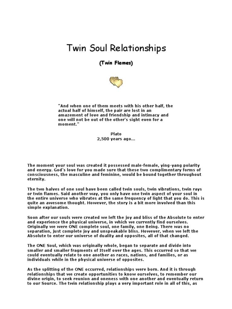Twin Soul Relationships | Soulmate | Soul