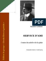 Maurice Leblanc - 1904 - Service d'Ami