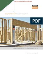 SIMPSON - Strong-Wall Shearwalls Prescriptive Design Guide