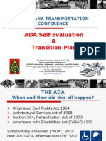 S41 ADA Self-EvaluationTransition Plan LTC2013