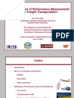 S46_Development of Performance Measurement for Freight Management_LTC2013