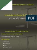 Aula 2 de IED I - Direito, moral e costumes sociais.ppt