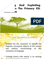 Exploring and Exploiting Drama in the Primary ESL