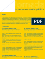 Jornada Psicanalise Autismo e Saúde Pública