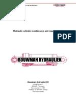 Hydraulic Cilinder Manual Engels