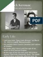 Schizophrenia Coursework- Jack Kerouac Presentation