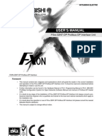 FX0N 32NT DP User's Manual
