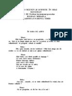 0 Poezii de Craciun Si Scenete in Grai Banatean