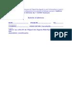 Bulletin Adhésion Appel Des Appels 31