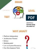 Online Test Ppt
