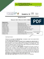 newsletter  24 20-3-13