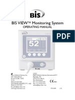 Aspect Medical BIS View Monitor - User Manual