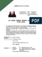 C.V. ROSA PRADO C.