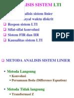 BAB 4 Analisis Sistem LTI
