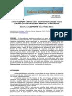 Caracterização e importância dos invertebrados de águas continentais com ênfase nos ambientes de Rio Grande