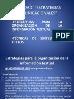 Estrategias para la organización de la información textual - técnicas de síntesis de textos.pptx