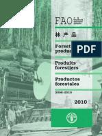 Anuario Productos Forestales FAO