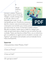 Lectura Phineas y Ferb