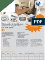 """Tubos tratados de alumínio para instalação de ar-condicionado tipo """"Split System"""".pdf"""