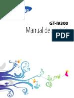 Manual de Usuario Samsung Galaxy S3 I9300 Español