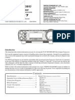 Yaesu FT-857 Service Manual