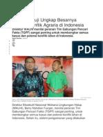 Kasus Mesuji Ungkap Besarnya Potensi Konflik Agraria Di Indonesia